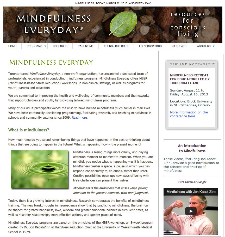 web-mindfulness
