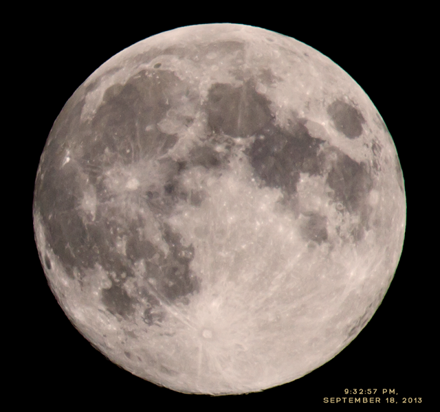 Harvest Moon, September 2013