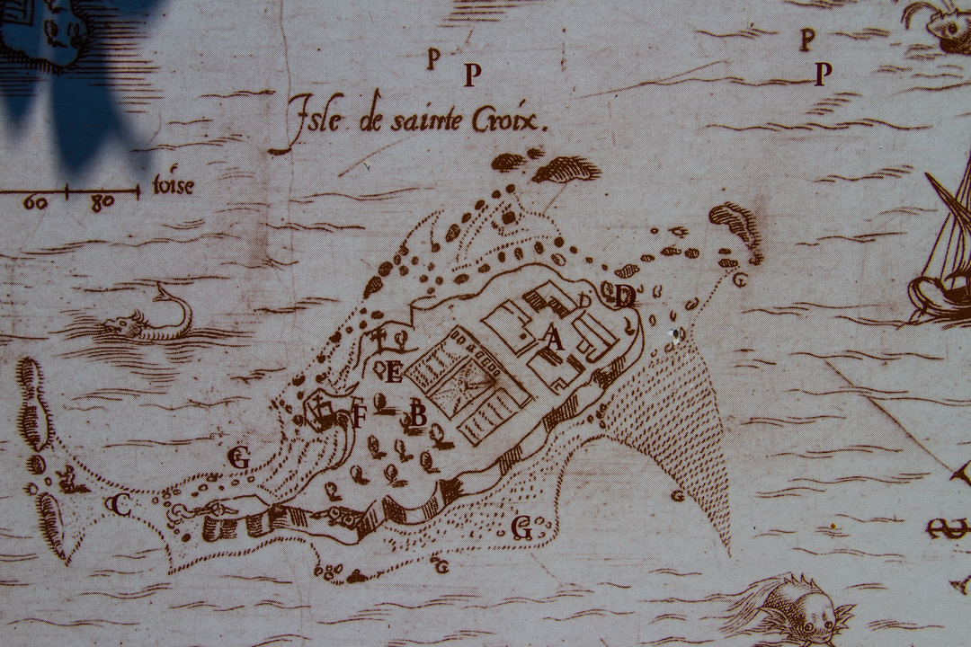 Settlement at St. Croix 1604