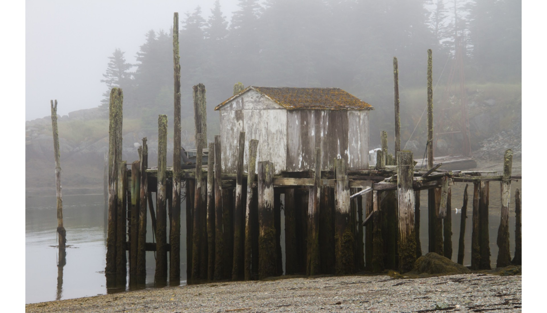 Fishing Wharf, Grand Mannam Island, NB, 22014