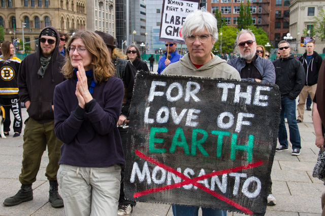 'March Against Monsanto', Parliament Hill