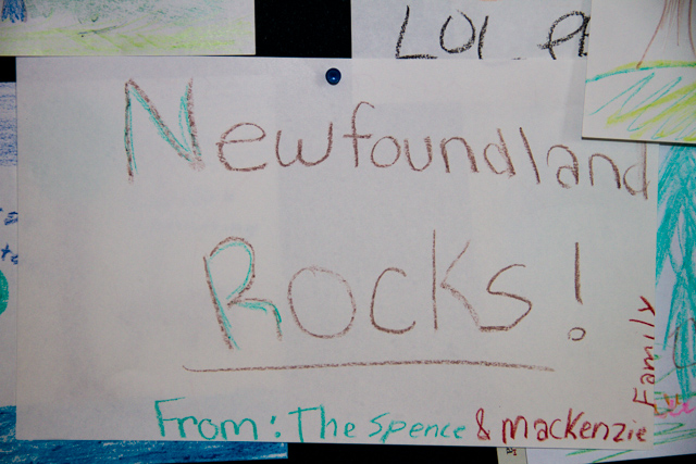 "Child""s impression of Newfoundland"