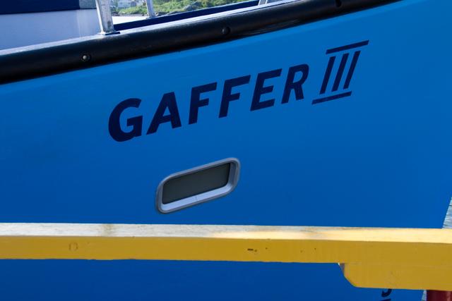 The good ship Gaffer III