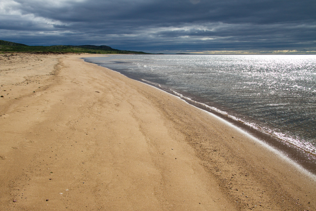 Beach at Pinware Provincial Park