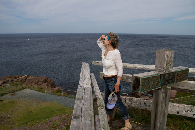 Frend Susan at the most easterly point of Newfoundland
