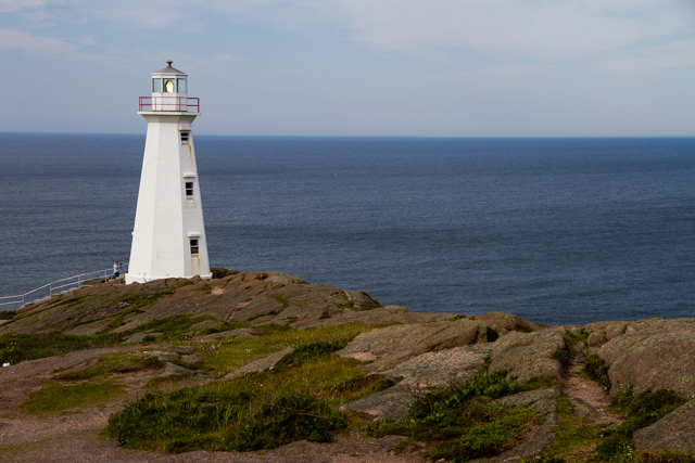 Cape Spear lighthouse. I met a friend in St. John's who grew up in a lighthouse (but not this one). How cool is that?